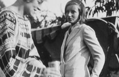 A private Garbo – Photos from her personal collection, 1930s.