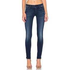 Hudson Jeans Collin Skinny Denim ($198) ❤ liked on Polyvore featuring jeans, blue jeans, denim skinny jeans, frayed skinny jeans, skinny leg jeans and super skinny jeans