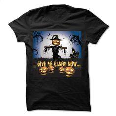 The halloween with candy Cool Halloween T Shirt, Hoodie, Sweatshirts - custom tshirts #fashion #T-Shirts