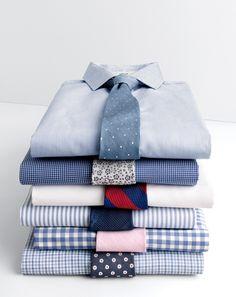 J.Crew men's Thomas Mason® for J.Crew shirts.