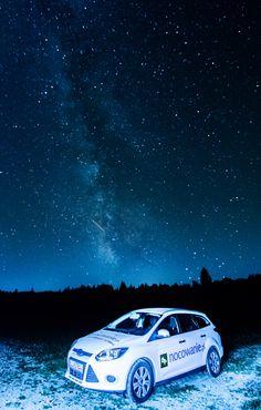 Podhale/Poland #Poland #mountains #góry #Polska #sky #amazing #stars #car #milkyway www.nocowanie.pl