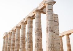 Our aesthetic = ancient columns Greek Gods And Goddesses, Greek Mythology, Artemis, Kamigami No Asobi, Captive Prince, Assassins Creed Odyssey, Heroes Of Olympus, Athens Greece, Ancient Greece