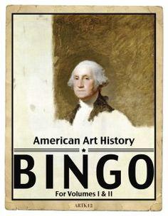 ARTK12's American Art History Bingo, Volumes I & II