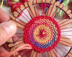 Mini Circle Hand Weaving Kit