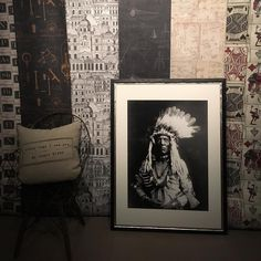 Tablou Framed Art Weasel Tail by Edward Curtis Edward Curtis, Cabana, Framed Art, Interior Design, Floral, Poster, Inspiration, Vintage, Home Decor