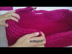 port baby knitting with yarn Crochet Dolls, Crochet Yarn, Crochet Stitches, Love Crochet, Crochet For Kids, Baby Knitting Patterns Free Newborn, Crochet Designs, Cotton Cord, Ring Sling