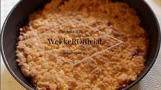 Ricetta : Crumble di mele con cannella | WeEkeR Official