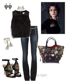 """""""Olga"""" by gigiwhoot ❤ liked on Polyvore featuring MICHAEL Michael Kors, Aquazzura, Marc Jacobs, Christian Dior, Lulu*s and Lulu Frost"""