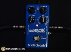 TC Electronic Flashback Delay - $169.  This is the delay that's on my board right now. It has a ton of different delay options. My favorite settings are 2290, Analog, the looper, and Tone Print. If you're not familiar with the Tone Print concept, I'd encourage you to read up on it via TC Electronic's website. They even have the Tone Print software released so I can customize my delay exactly how I want it.