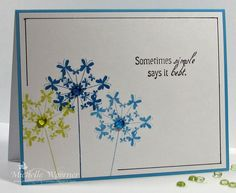 Trio of CAS note cards, 2 by sf9erfan - Cards and Paper Crafts at Splitcoaststampers