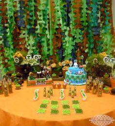 Plants vs. Zombies Birthday Party Ideas | Photo 1 of 15