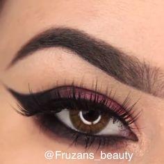 Make-up Anleitung - Natural Makeup Tutorial Eye Makeup Tips, Makeup Inspo, Makeup Inspiration, Hair Makeup, Makeup Style, Makeup Hacks, Makeup Eyes, Simple Makeup, Natural Makeup