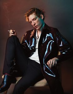 Domhnall Gleeson Photography JOSH OLINS Stylist ROBBIE SPENCER