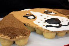Complete Deelite: Basset Hound Cupcake Cake