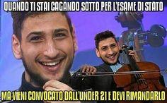 Instagram media by calciatoribrutti - Donnarumma culone. #calciatoribrutti #ignoranza #donnarumma #italia #vivoazzurro #milan