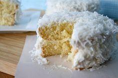 Mini Coconut Cakes | Lauren's Latest