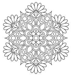Mandala. Coloring pages for grown ups                                                                                                                                                                                 More