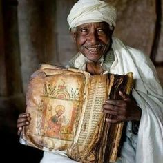 Ethiopian Bible is the oldest and complete bible on earth. Written in Ge'ez an ancient dead language of Ethiopia it's nearly 800 years older than the King James Version and contains 81-88 books compared to 66. It includes the Book of ENOCH, Esdras, Buruch and all 3 Books of MACCABEE, and a host of others that was excommunicated from the KJV.