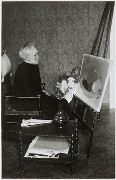 Helene Schjerfbeck, Photo: H. Holmström FNG/CAA, collection Gösta Stenman, 1937