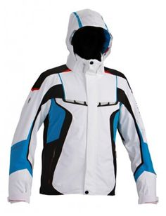 Ferran Jacket, by Descente - Spain's Team jacket with added ventilation on the chest for improved performance through superior comfort. The unique styling of the chest ventilation adds to the innovative look and feel of this amazing jacket. This jacket is packed with all the latest features from spine guard to side mirror windows.