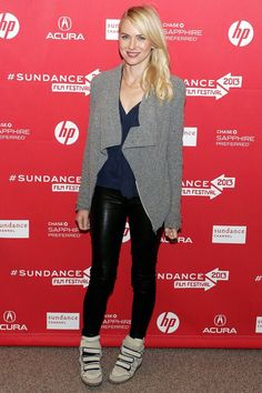 #NaomiWatts makes an appearance at the #SundanceFilmFestival