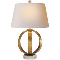 Visual Comfort Lighting E.F. Chapman Metal Banded 1 Light Table Lamp