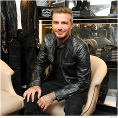 David Beckham + Belstaff Celebrate Peter Lindberghs Photography Book Off Road image David Beckham Belstaff 001