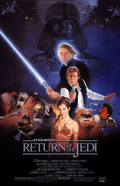 """""""Star Wars Episode VI: Return of the Jedi"""" directed by Richard Marquand / highest grossing film in 1983"""