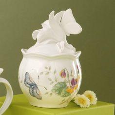 Lenox Butterfly Meadow Flower Diffuser - NEW IN BOX!!!