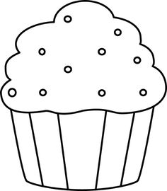 clipart sprinkles single cupcakery pinterest sprinkles clip rh pinterest com  cupcake clipart outline