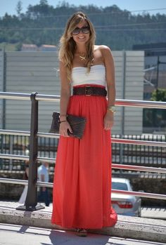 Coral Maxi...very cute for a holiday look or hot summer day