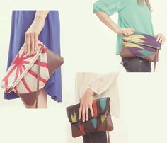 Kimono Clutches  by Grace Design