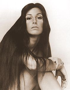 Cher, when she was still young, beautiful, and not plastic.