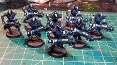 Thokt Necron Project – Immortals, Deathmarks, Overlord, and Destroyer Warhammer 40k Necrons, Warhammer Figures, Warhammer Paint, Warhammer Models, Necron Warriors, The Black Library, Tomb Kings, Dice Box, Tyranids