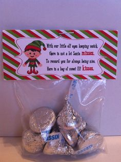 Personalized party designs for all your special events. Birthday parties, weddings, baptisms and more! Christmas Treat Bags, Christmas Favors, Christmas Crafts For Gifts, Christmas Makes, Christmas Activities, Christmas Goodies, Christmas Printables, Christmas Candy, Christmas Projects