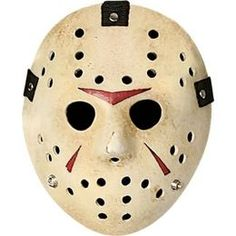 Jason Voorhees mask i from the Friday the 13th movie series  Created by Victor Miller.