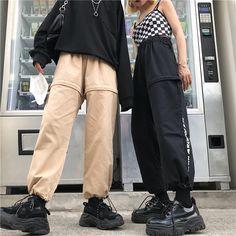 Hip mujeres de DESCUENTO estilo de Comprar carta 68 2018 flojos Panter pantalones 13 manera 30 Harajuku Hop pista la nuevas más trajes vwFzqxTSWx