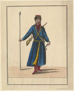 Don Cossack. (c.1815). From the Anne S.K. Brown Military Collection originally.