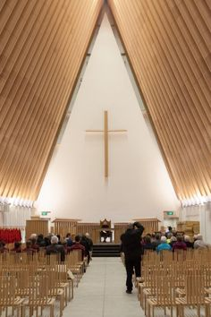 Cardboard Cathedral in New Zealand by Shigeru Ban