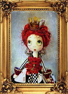 Print of Art Doll Photograph Queenie Urchin by lilliputloft, $25.00