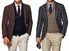 """Suitsupply """"Soft Tweed"""" Havana Jackets 