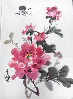 551 best chinese flower images on pinterest in 2018 chinese peony painting chinese painting flowers chinese landscape painting chinese flowers japanese painting ink painting landscape paintings chinese art mightylinksfo
