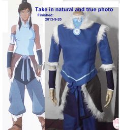 This is already in my possession.  I shall be Korra for Halloween.  My son, Ayden, is going be Zuko. :)