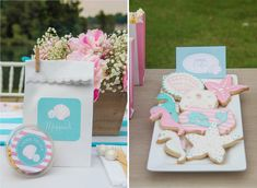 Sweet Peach Paperie Mermaids and Mommies Party