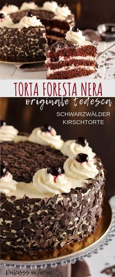 49 Ideas for cheese cake ricetta tedesca Healthy Dessert Recipes, Cupcake Recipes, Easy Desserts, Baking Recipes, Chocolate Trifle Desserts, Chocolate Recipes, Cake Chocolate, Cupcakes, Cake Cookies