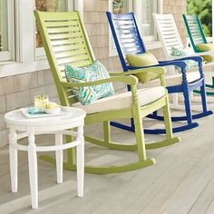 Nantucket Furniture Collection, Many Colors, Chairs, Tables, Planters  Https://