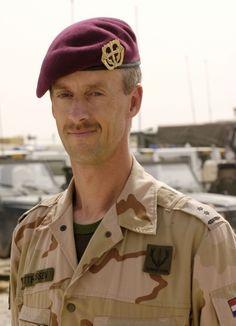 LKol K. Matthijssen SFIR3-SFIR4,  Regiment Stoottroepen Prins Bernhard