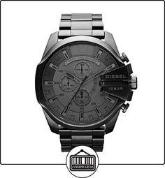 Diesel Mega Chief - Reloj de pulsera de  ✿ Relojes para hombre - (Gama media/alta) ✿