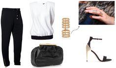 Style Plaza: Loose black pants