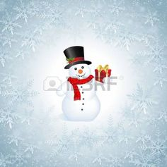This image represents a Snowflakes Christmas Background.  Snowflakes Christmas Background photo